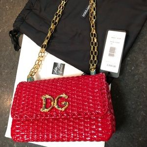 Dolce & Gabbana Small Wicker Shoulder bag